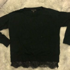 Banana Republic Wool Sweater with lace bottom